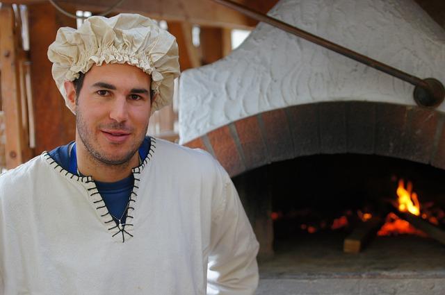 muž pekař